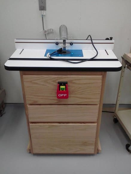 How to build a home made router table for Home built router