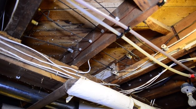 How to Replace and Tube Wiring with Romex - WOODWORKING ... Wiring Old Houses on